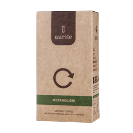 METABOLISM - cafea macinata cu L-carnitină și Garcinia Cambogia