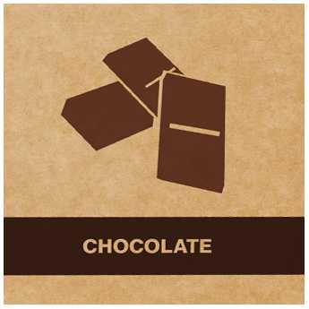 Cafea măcinată Aurile cu aromă de ciocolată - CHOCOLATE