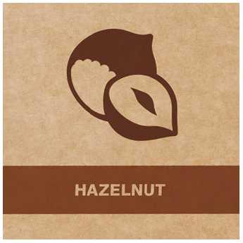 Cafea măcinată Aurile cu aromă de alune - HAZELNUT